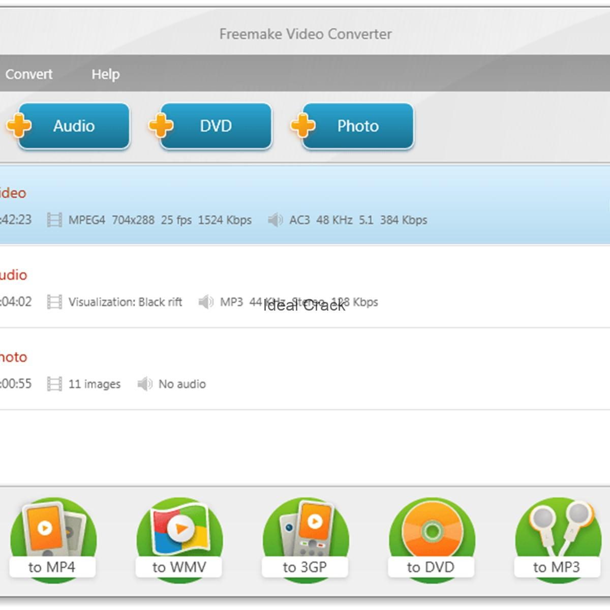Freemake Video Converter 4.1.10 Build 393 Primer With Crack Key